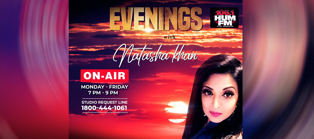 Evenings with Natasha Khan