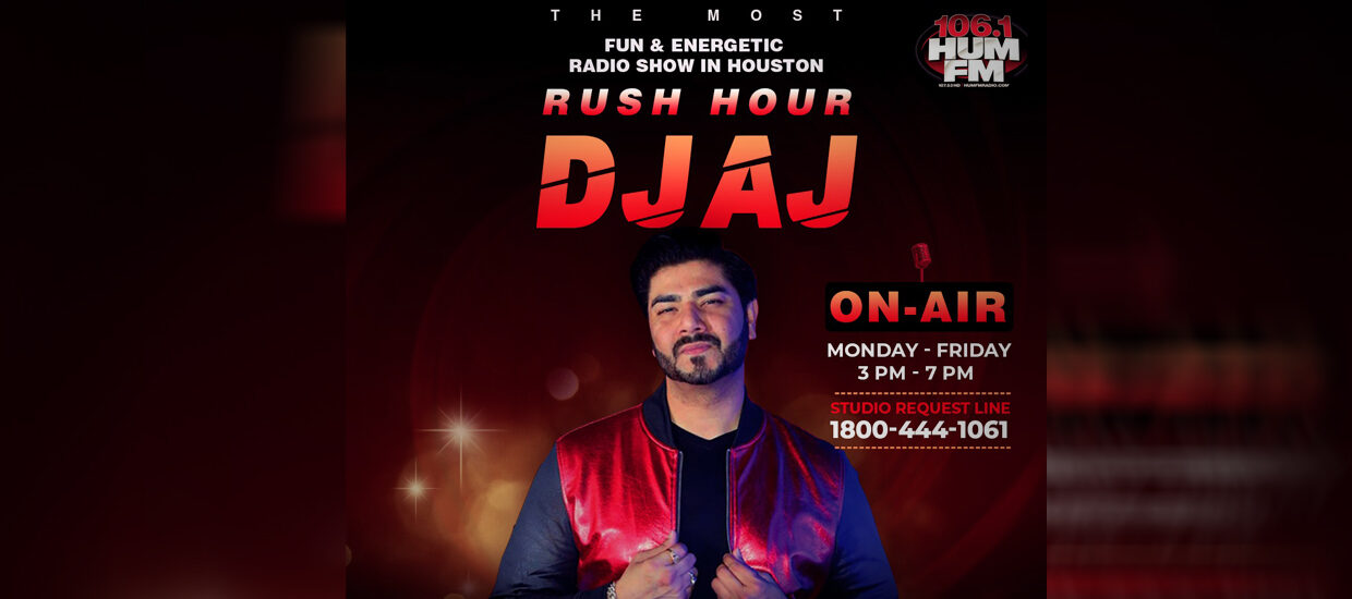 The Rush Hour with DJ AJ